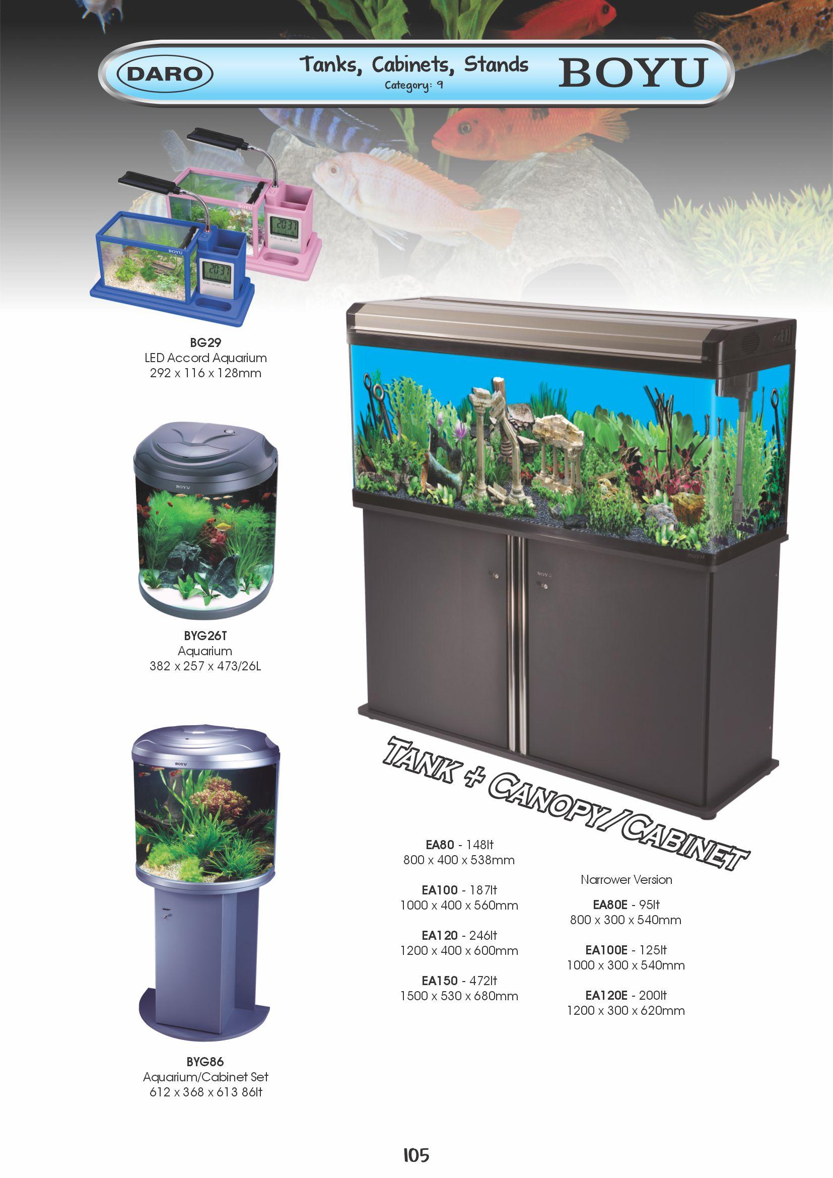 Fish tank cabinet za - Boyu Tanks Sets