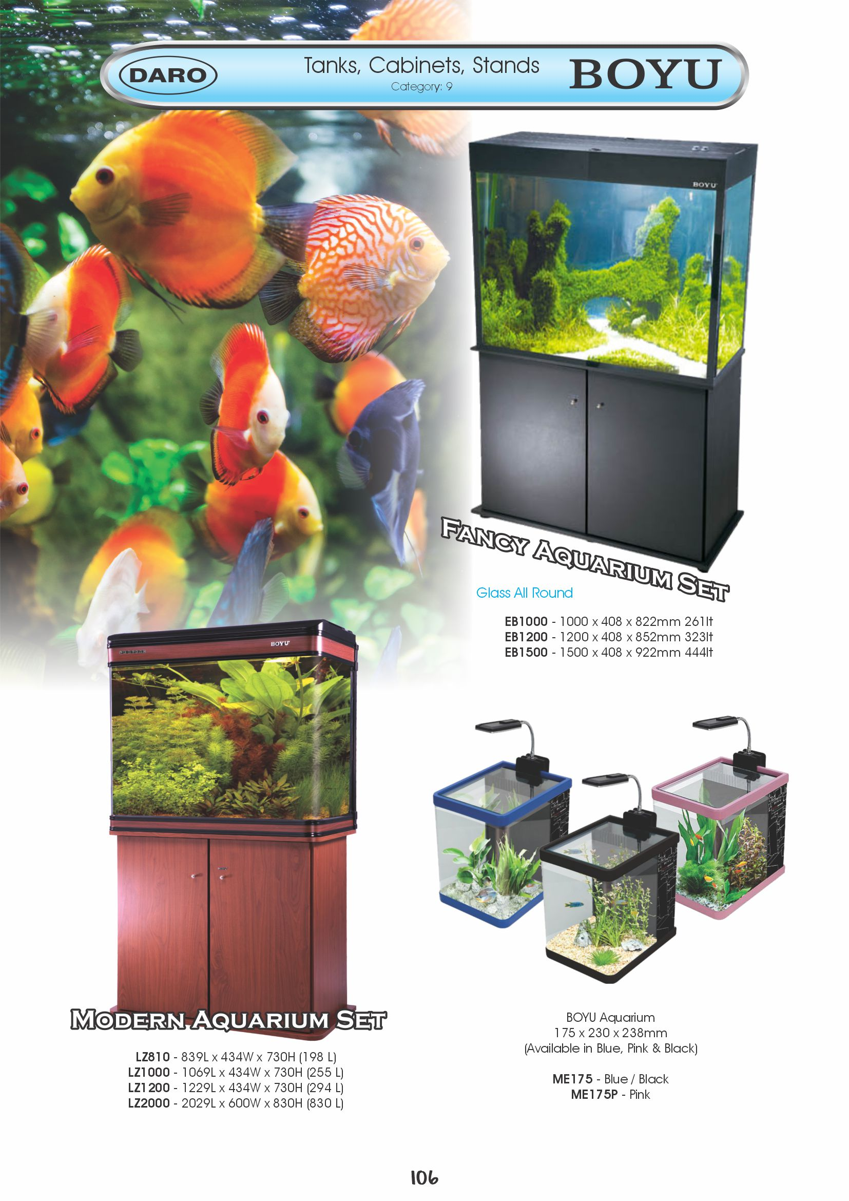 Fish tank cabinet za - 106